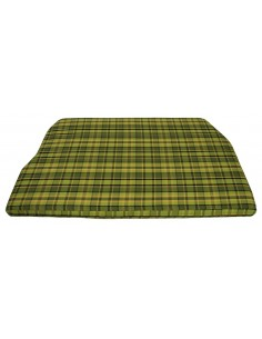 Westfalia Green Plaid Engine Foam Cover Full Width 1974-1979