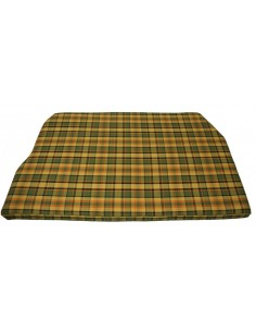 Westfalia Yellow plaid Engine Foam Cover Full Width 1974-1979