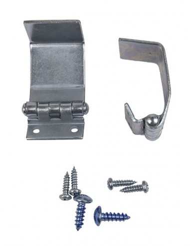 Pair of Westfalia Sink Cover Table Hinges for VW T2 Early Bay