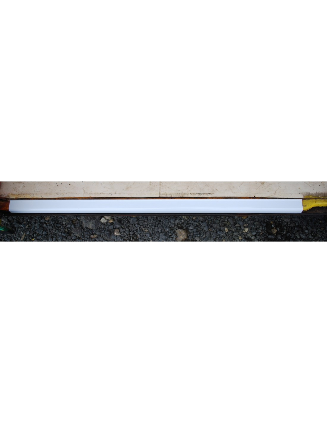 White Floor Edge Trim For Sliding Door Step Nla Vw Parts