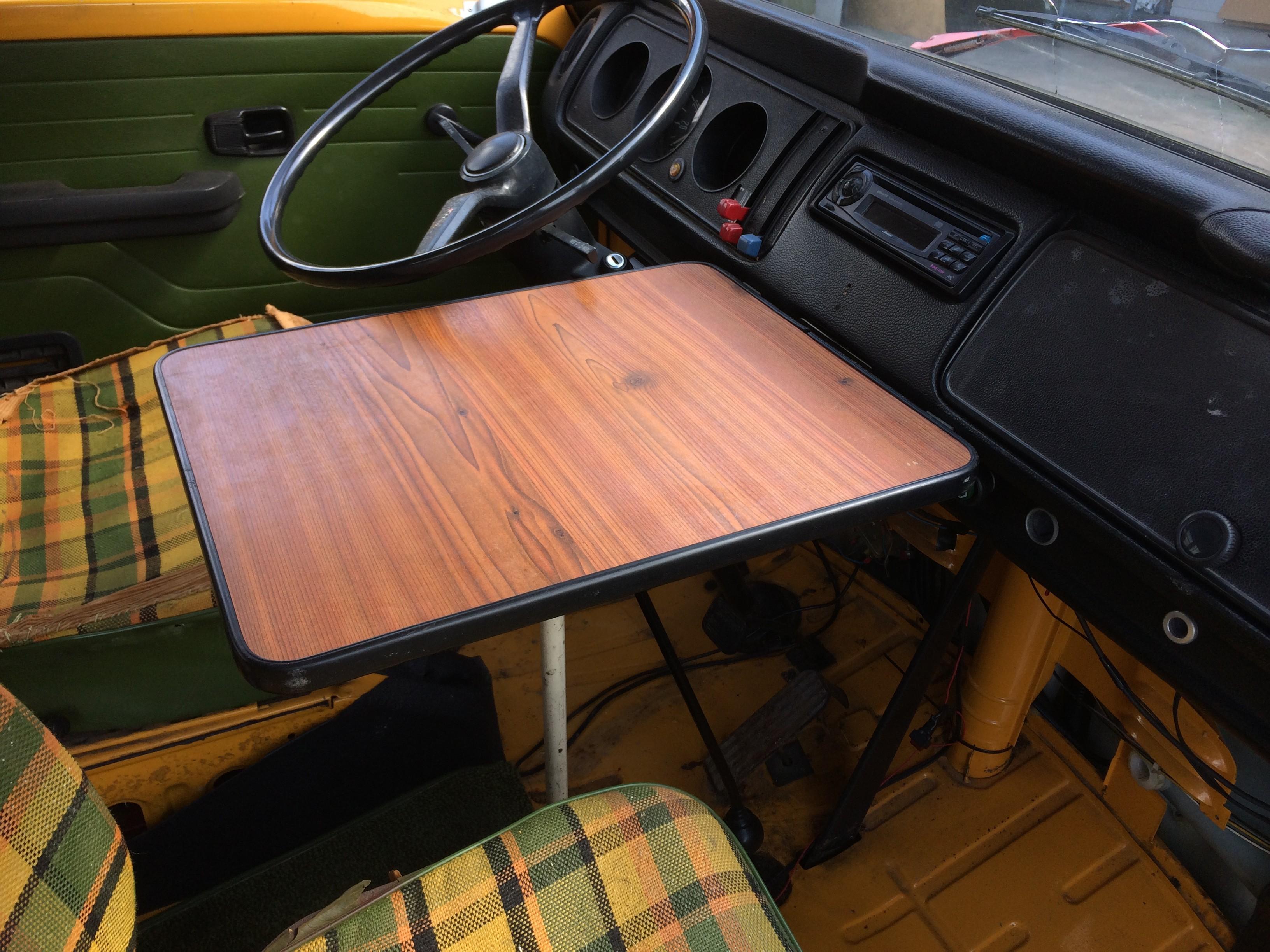 Storage Box Green C9609g T2 Westfalia Wooden Buddy Seat Campervan Motorhome Parts Vehicle Parts Accessories
